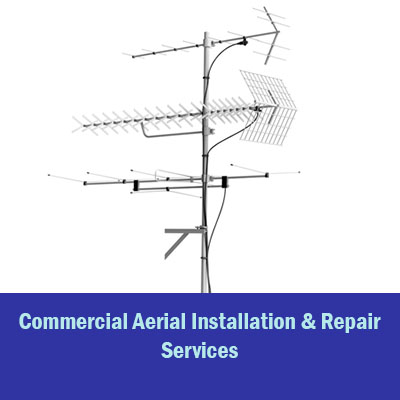 commercial aerial installation flip box with text 1