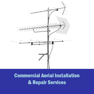 commercial aerial installation flip box with text 2