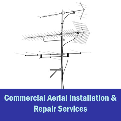 commercial aerial installation Exeter